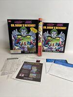 """Dr Doom's Revenge! Commodore 64/128 Computer Game 1989 5.25"""" Floppy Paragon"""