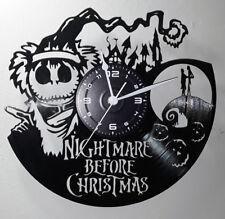 OROLOGIO DA PARETE ARTIGIANALE - DISCO VINILE - NIGHTMARE BEFORE CHRISTMAS #4