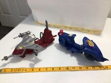cops n crooks Vehicle Hasbro Parts Lot Not Complete