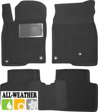 All Weather Floor Liner Velour Carmats Rubber Backing Fit Honda Civic 4D 2017-