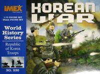 Republic of Korea Troops Korean War Imex 1/72 50 figures Plastic Soldiers #530