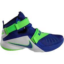 5fb3d5ed2aa Nike Lebron IX 9 Soldier Sprite Game Blue Green 749417-601 Mens Basketball