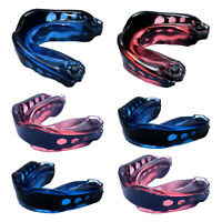 GEL MAX POWER Shock Mouthguard Gum Shield Adult Boxing Rugby UFC Protective Gear