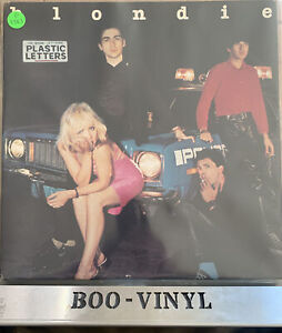 BLONDIE - PLASTIC LETTERS VINYL LP RECORD RARE DUTCH PRESS EX / EX CON