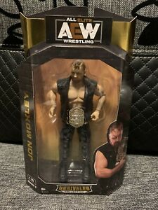 AEW All Elite Wrestling Unrivalled Jon Moxley Figure