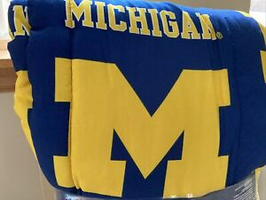 University Of Michigan NWT Twin XL Comforter/sheets Bedding Set,  HTF, Dorm Size