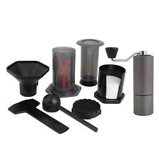 NEW Aeropress Coffee Maker Kit inc Timemore C1 Grinder and 350 Filters