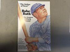1933 BABE RUTH R&N GOUDEY REPRINT SET #53 #181 #149 #144 PORCELAIN W/COA BOX