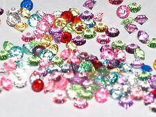 30pc tiny Crystals rhinestone fairy fill gems Float Wholesale 3mm Rainbow