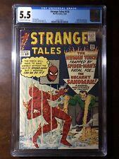 Strange Tales #115 (1963) - 2nd Sandman! Dr. Strange Origin! - CGC 5.5 - Key!