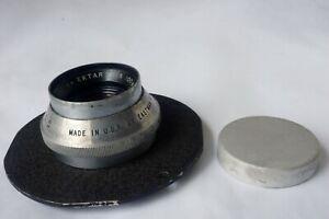 Kodak Projection Ektar 100mm f/4.5 ER110K Lens w/ Board Stuck Aperture Ring USA