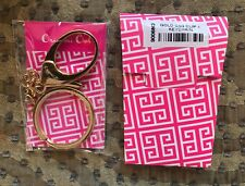 Authentic Origami Owl Gold Key Chain Purse Luggage Dangle - NEW