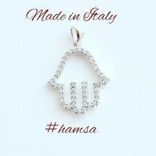 925 sterling silver hamsa pendant