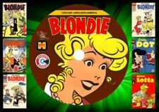 Blondie - Little Dot – Little Lotta Gold Key Comics On DVD Rom