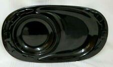 New ListingLongaberger Woven Traditions ~ Ebony Black Oval Soup Sandwich Snack Tray Nice!