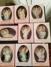 New! Set Of 9 Seraphim Classics Ornaments By Roman