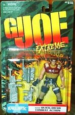 """G.I. Joe Extreme Ballistic 4"""" Action Figure with Quick-Draw Combat Action"""