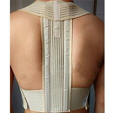 New Metal Posture Back Shoulder Corrector Support Brace Belt Therapy Adjustable