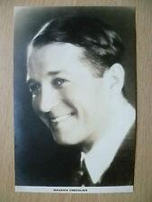 Film Actors Postcard- MAURICE CHEVALIER ''No.2, Film Weekly, London''