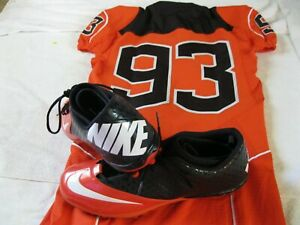Mens  Nike Game Issue Oregon State Beavers NCAA, College Football Jersey & Shoes