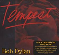 Bob Dylan tempest CD 2012 Deluxe Edition exclusive Book CARDS * NEW