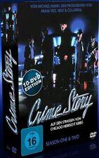 Crime Story - Die komplette TV-Serie Staffel 1 & 2, 10 DVDs Dennis, John NEW