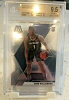 BGS 9.5 Zion Williamson 2019 Panini Mosaic #209 BASE Rookie RC Gem Mint
