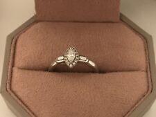 Emmy London Platinum Ring Size K