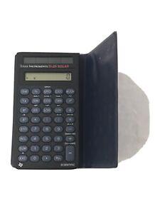 Texas Instruments TI-25 Solar Scientific Calculator