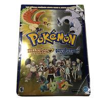 POKEMON Heart Gold/Soul Silver Johto Guide & Pokedex DS No Poster