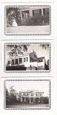 6-Natchez, Mississippi 1940 Garden Club Tour & Eclispe Antique Real Photos N4593