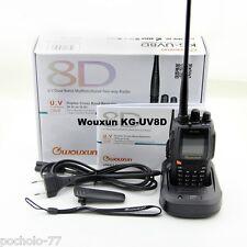 Walkie Bibanda Vhf / Uhf Wouxun KG-UV8D 5W + Kopfhörer Funktion Repeater Voll