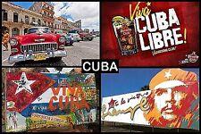 SOUVENIR FRIDGE MAGNET of CUBA