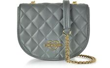 Love Moschino Grey Quited Chain Shoulder Bag BNWT