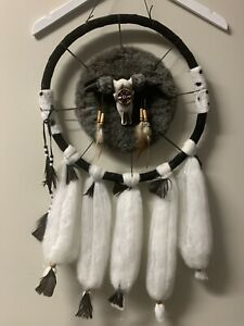 Native North American Indian Feathered Dreamcatcher