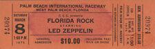LED ZEPPELIN 1975 Physical Graffiti Unused Ticket John Bonham Jimmy Page
