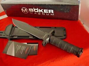 Boker Knives 02SC004 John Jay Fixed Blade Survival Sheath Knife MINT IN BOX