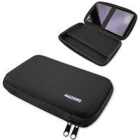 caseroxx GPS-Tasche für Garmin DriveSmart 65 in schwarz aus Kunstfaser