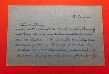 Pierre de BREVILLE - Lettre autographe signée