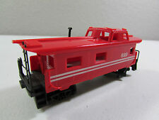 Vintage Tyco HO Scale Gauge #689 Red Caboose Train Freight Car