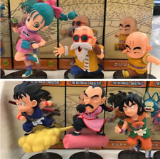Dragon Ball Z Son Goku WCF 30th Running Flight vol.1 Master Roshi 6pcs Figure