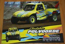 2014 Christopher Polvoorde Horizon Trophy Kart LOORS Off Road postcard