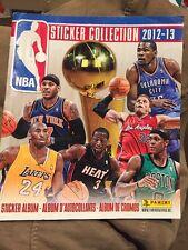 Panini 2012-13 NBA Individual Sticker Album NEW
