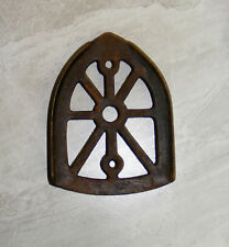 """Vtg. Collectible """"Cast Iron"""" CLOTHING IRON TRIVIT- see pics-VERY OLD!"""