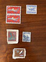 GERMANY Stamps Deutsche Bundespost & Deutsches Reich, German Plane (270 Stamps)