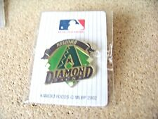 Arizona Diamondbacks 2002 Kanebo Foods Japanese MLB pin Japan v2