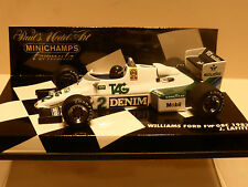 Minichamps 1:43 Jacques Lafitte Williams Ford FW08C F1 1983