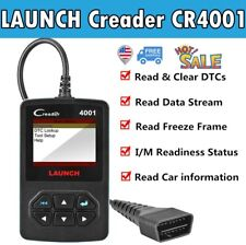 LAUNCH X431 Code Reader Car Automotive Clear Fault Code OBD2 Scanner Tool CR4001