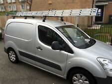 To Fit 2016+ Peugeot Partner Roof Rack Bars Rails 3 Bar System