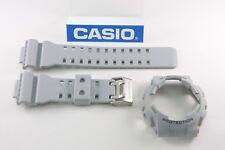 CASIO GA-110TS-8A3 G-Shock Original Grey BAND & BEZEL Combo GA-110 GA-110TS